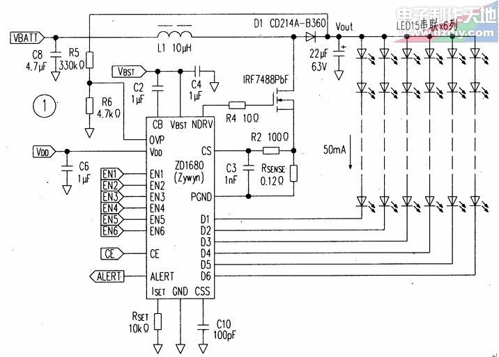 LED驱动器ZD1680电路图?#27493;? /></a>                 </div><div class=