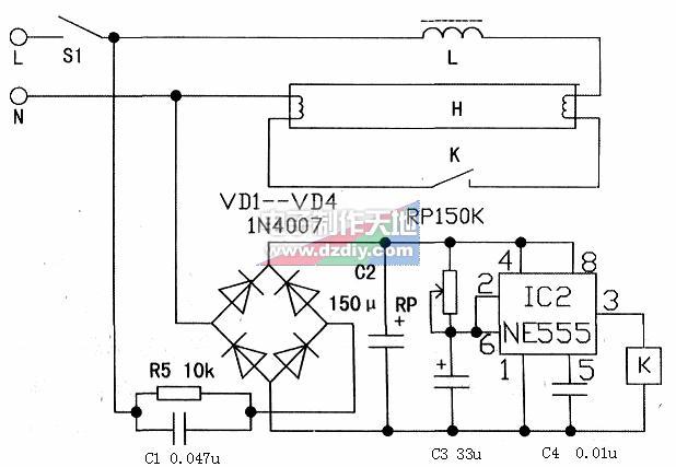 自制电子启辉器的工作原理