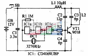 袖珍多用途無線遙控門鈴的制作及原理