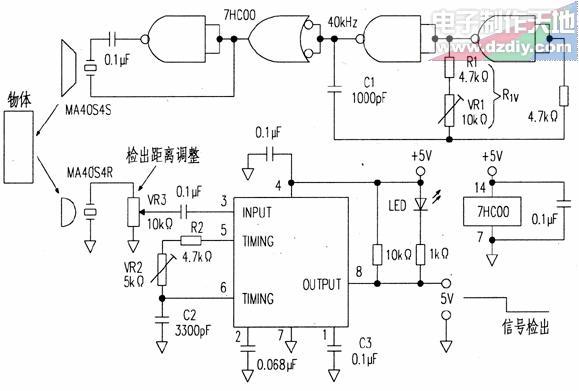 超声波传感器的工作原理