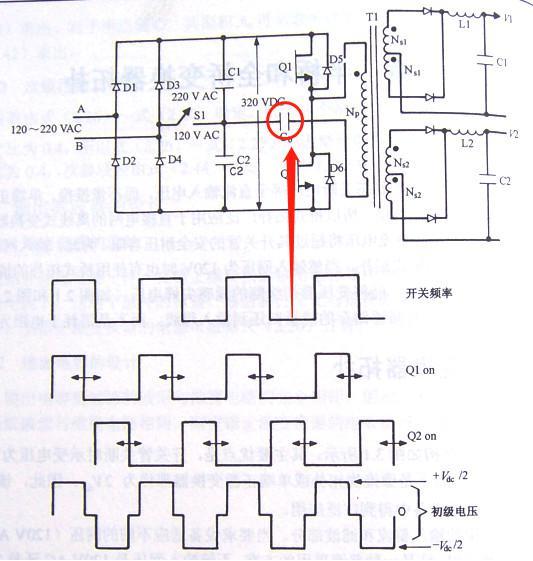 开关电源半桥隔直电容Cb要如何计算
