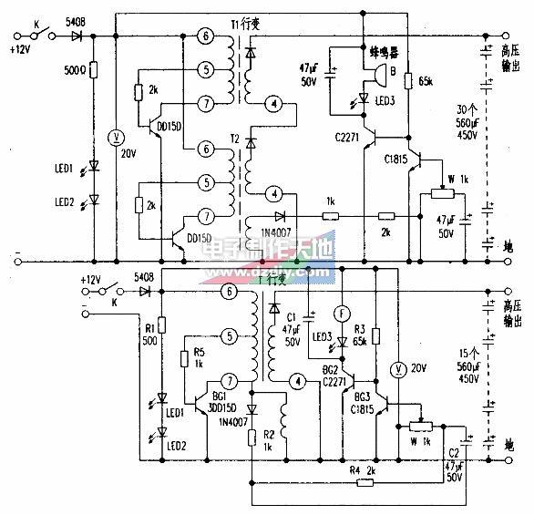 电子捕猎器电路的工作原理及设计