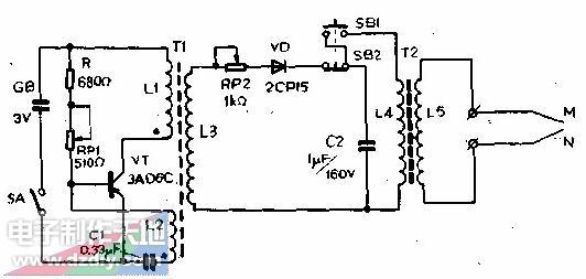 电子点火器电路的工作原理