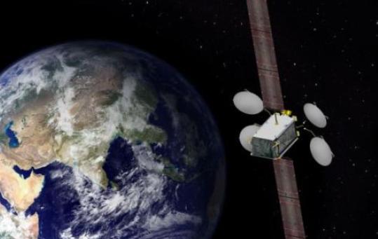 """我國以""""一箭雙星""""方式成功發射兩顆北斗導航衛星"""