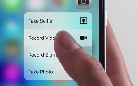 苹果的3D Touch 技术移除,仍在继续探索