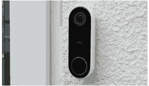 谷歌人臉識別門鈴的攝像頭和門鈴二合一