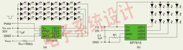 多颗LED驱动方案的设计