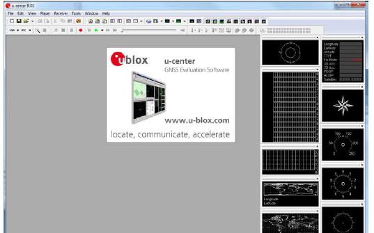 u-center应用程序软件和使用手册免费下载