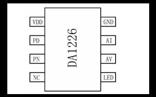 DA1226镍氢镍镉充电管理芯片的数据手册详细资料免费下载