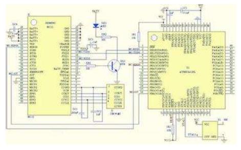 ATmega128单片机的内部资源、工作原理和硬件电路设计的资料免费下载
