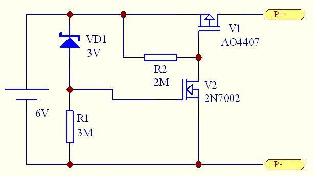 关于低功耗多节串联镍氢电池过放电保护电路设计