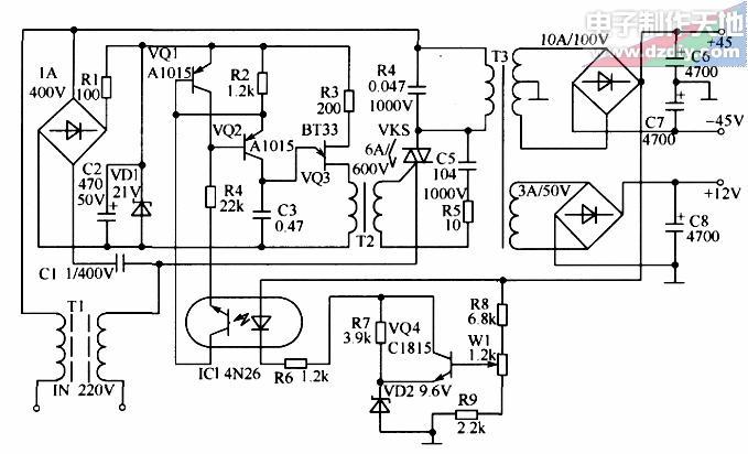 性能优越的功放电源的电路讲解