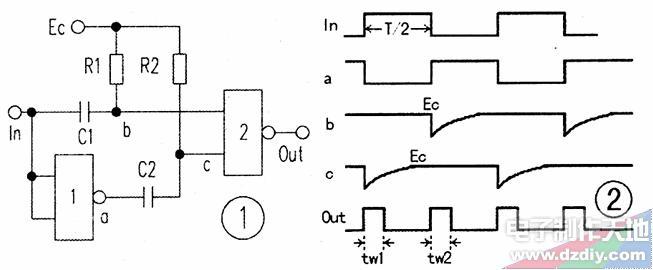 CMOS脉冲倍频器的工作原理