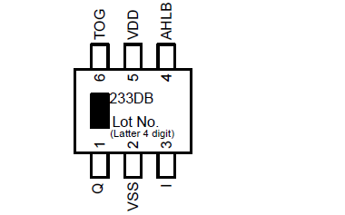 TTP233D-BA6单按键触摸检测芯片的详细中文数据手册资料免费下载