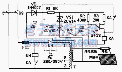 电焊机自动控制电路的原理及制作
