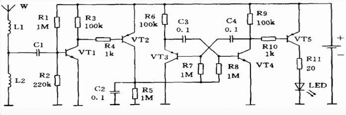 900MHz射频指示器的工作原理