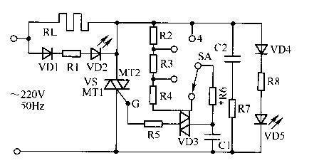 可控硅调功电路的工作原理及制作方法