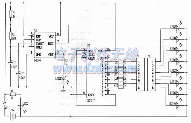 多芯电缆检测电路的工作原理及调试