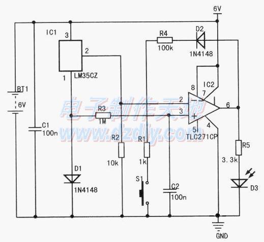 零度检测器的工作原理及制作