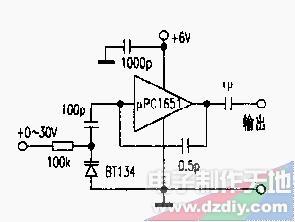 怎样用UPC1651制作超高频压控振荡器