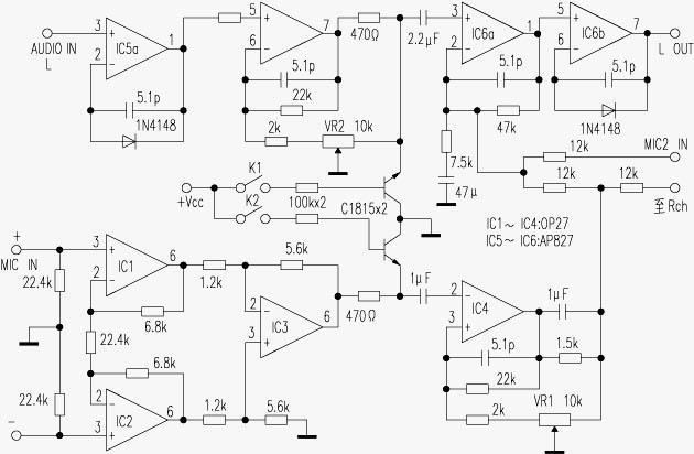 HIFI配音控制放大器的制作方法