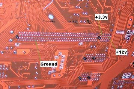 怎样加大PCI-E插槽对显卡的供电电流 diy详解