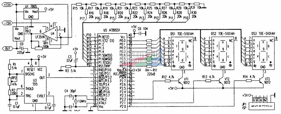 基于AT89S51控制的可调稳压电源的原理及设计