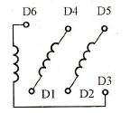三相六线电机接线电路图