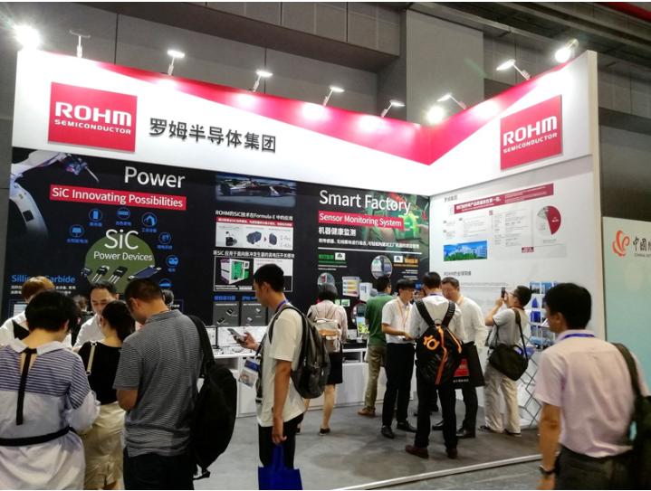 """罗姆参展""""2018第二十届中国国际工业博览会""""带来SiC功率元器件为中心的电源解决方案"""