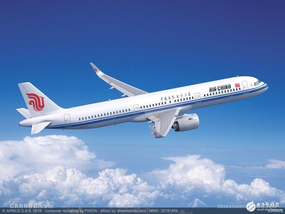 我國首架A321neo飛機問世,采用了新一代發動機和鯊鰭小翼最新科技
