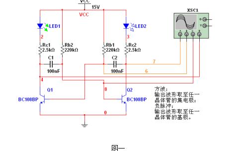 自激多谐振荡电路的Multisim仿真详细资料免费下载