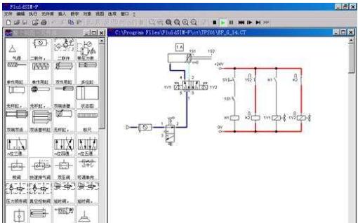 """FluidSIM仿真軟件在""""機電 設備安裝與調試""""課程教學中有什么作用?"""