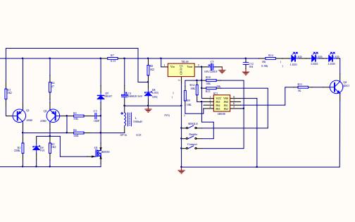 TE2-0526A 1W3 LED的详细电路原理图资料免费下载
