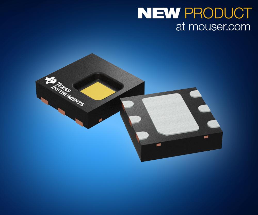 TI HDC2080数字温湿传感器在贸泽开售 让...