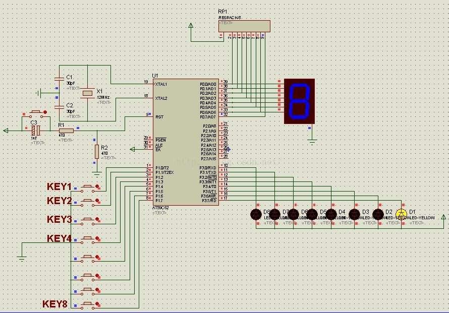 51单片机MAX7219程序编写与测试