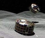 日本隼鸟2号探测器向小行星龙宫释放了两个微型机器...