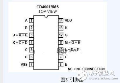 cd4001定时电路原理 浅谈cd4001电路应用