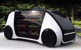 Robomart携手英伟达推出全球首辆自动驾驶迷你型超市汽车