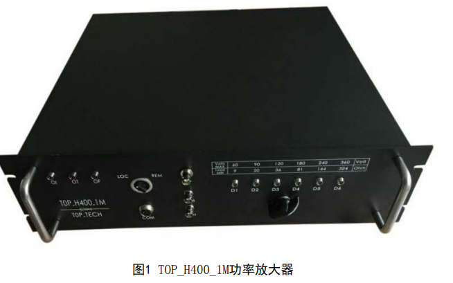 TOP_H400_1M宽频带大功率线性功率放大器的详细使用手册免费下载