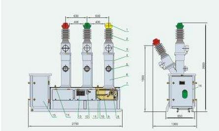 分析对压气式断路器和自能式断路器的选型要求