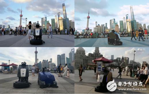 """上海高仙机器人:成功""""打卡""""了一系列城市地标,创造了美好的环境"""