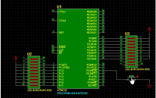 LED灯中断C语言程序资料免费下载