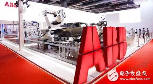 ABB机器人惊艳亮相工博会,引领未来智造潮流