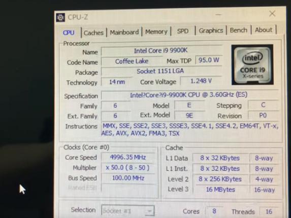 i9-9900K价格曝光 受涨价影响国内售价应该...