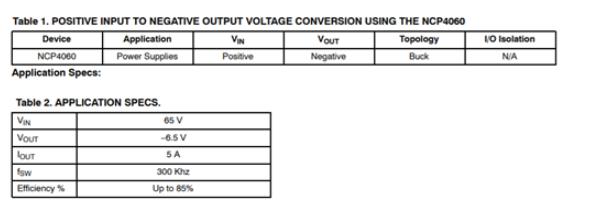 buck-boost逆變拓撲結構 節省了功率和占板空間