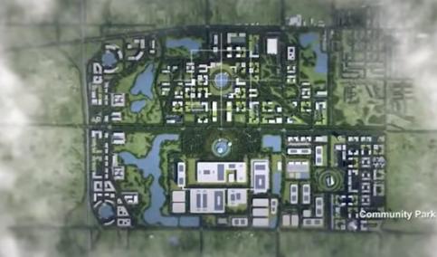 富士康第一座大楼将于年底完工,计划2019年初开...