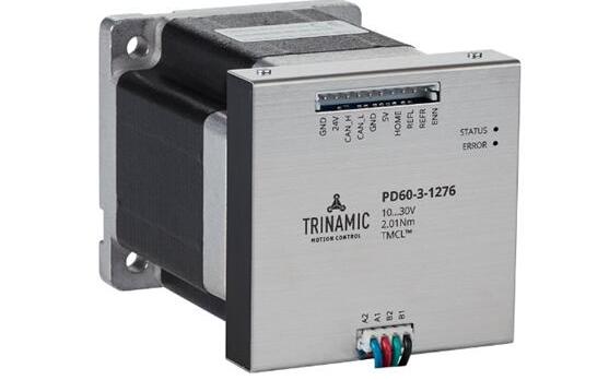 Trinamic智能步进电机 -没有比这更容易的了。