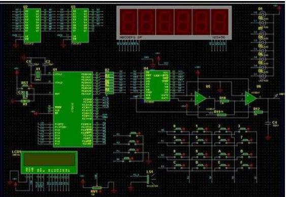 郭天祥51单片机开发板的Proteus文件详细资料免费下载