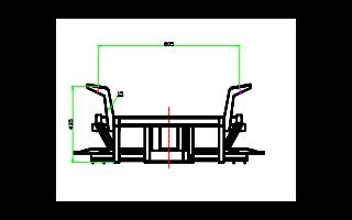 电动汽车车架焊合模型图纸详细资料免费下载