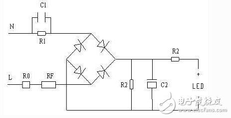 led恒流驱动电源接线图